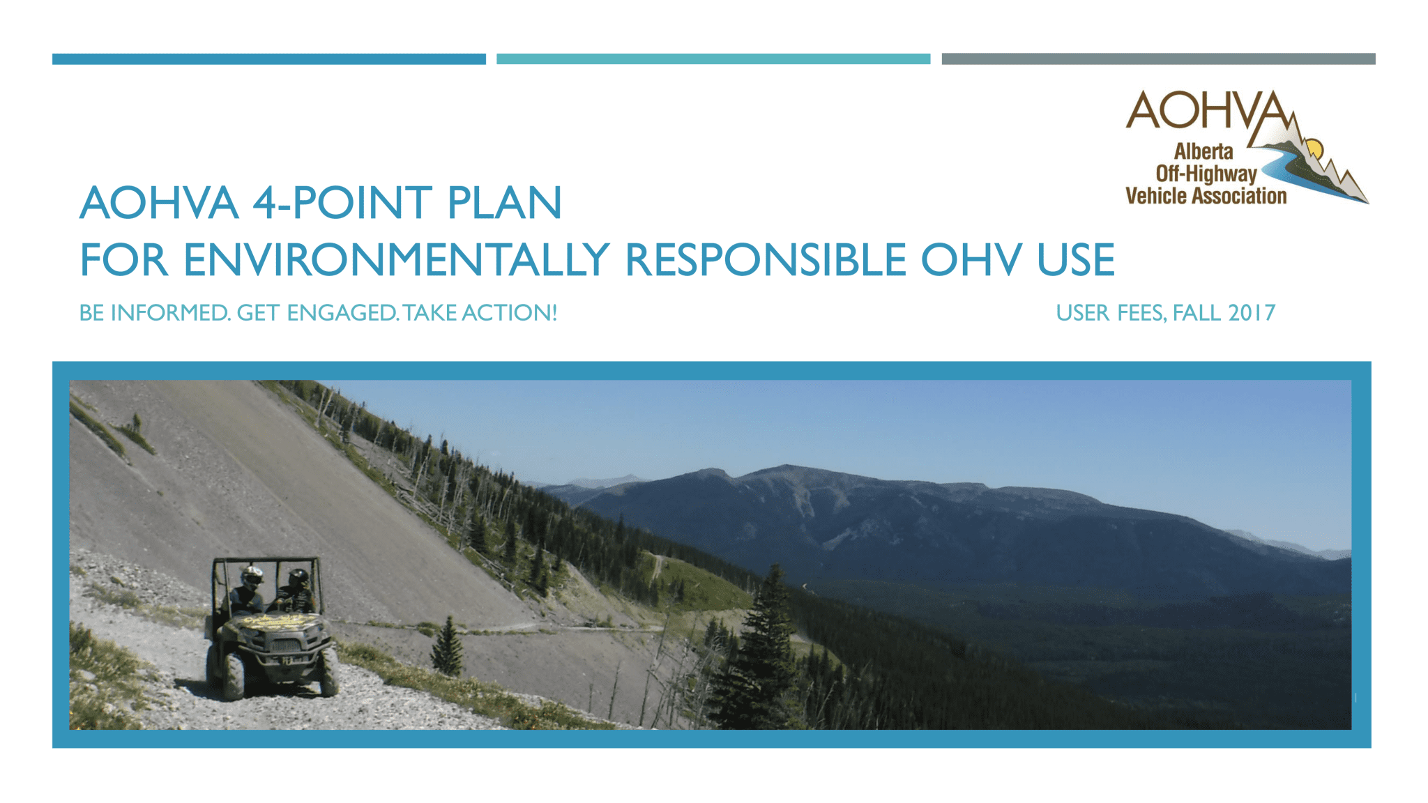 AOHVA 4-Point Plan_User Fees_Title Page