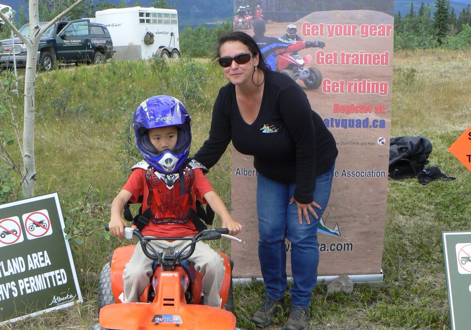 ALBERTA ATV TRAINING at Kananaskis Country Parks Day 2015 (2)